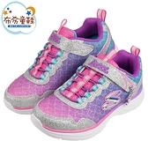 《布布童鞋》SKECHERS_SEA_SPARKLE_美人魚亮片銀紫色海洋兒童運動鞋(17~23公分) [ N1B44LF ]