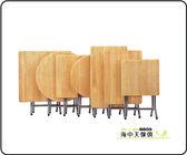 {{ 海中天休閒傢俱廣場 }} F-9 摩登時尚 餐廳系列 620-8  2x2尺原木電鍍腳