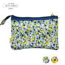 化妝包-Craft House 三層帆布收納包-碎花/藍色-玄衣美舖