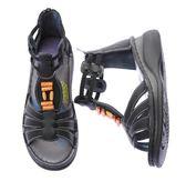 MODO雅緻/木飾羅馬鞋/舒適內裡-THE ONE-手工氣墊鞋 (全牛皮)-F52607  黑