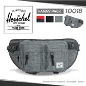Herschel加拿大品牌 7折 隨身腰包 輕量單肩包斜背包 多層收納休閒帆布包 素面斜肩包 藍/黑/灰 10018