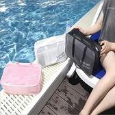 游泳包 沙灘游泳包大容量洗漱包女干濕分離健身瑜伽收納包便攜溫泉洗漱袋  宜室家居