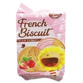 奶油獅 法式薄餅夾心 香濃草莓