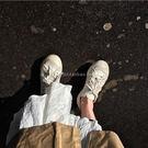 帆布鞋韓版街拍休閒白色帆布鞋女小白鞋百搭低幫板鞋潮 寶貝計書