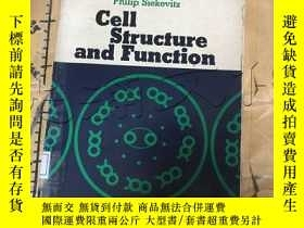 二手書博民逛書店Cell罕見Structure and FunctionY252