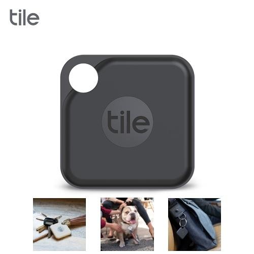 Tile Pro 2.0  智慧藍芽防丟尋物器 單入(黑色)【限時回饋↘省$119】