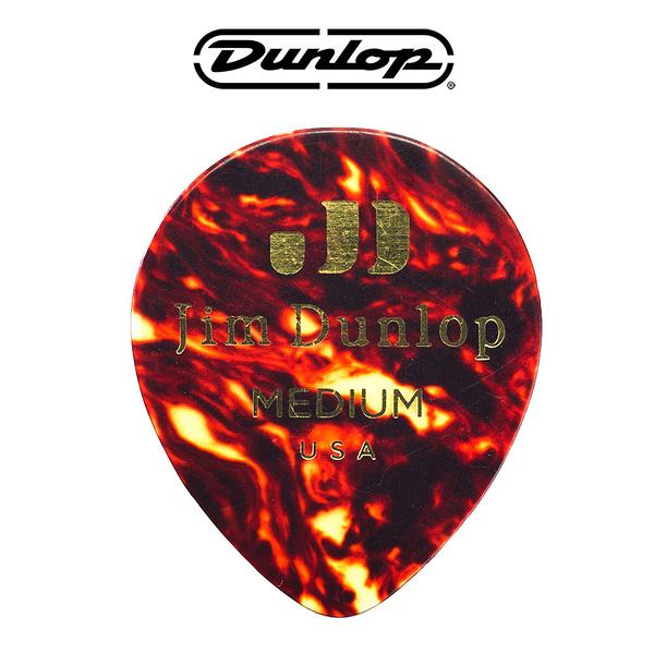 小叮噹的店-PICK 彈片 美國Dunlop 485R05 貝殼色 Tear Drop