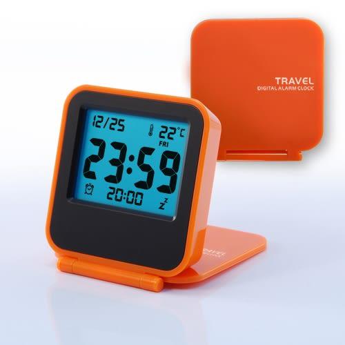 簡約時鐘之電子鐘錶 迷你鬧鐘 旅行鬧鐘 便攜小鬧鐘 小鈴聲