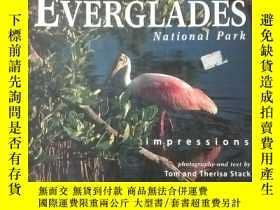 二手書博民逛書店EVERGLADES罕見National park impressions 英文原版彩印Y152941 Tom