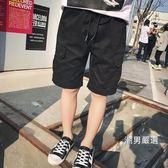 新年禮物-短褲男童短褲夏11-13歲中大童棉質厚款寬鬆休閒寶寶外穿兒童五分褲潮