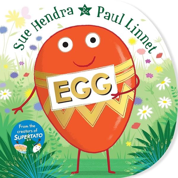 【麥克書店】EGG /英文繪本《主題: 自我認同.復活節》 作者: Sue Hendra