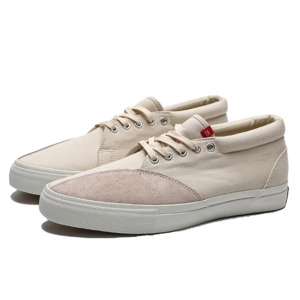 CLEARWEATHER WALTER 米白 帆布 麂皮 紅標 休閒 滑板鞋 男 (布魯克林) CM016004