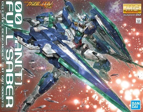 鋼彈模型MG 1/100 00Q QAN [T] 量子型全刃式 FULL SABER 00V戰記劇場版 TOYeGO 玩具e哥