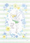 【拼圖總動員 PUZZLE STORY】小精靈-Tinker Bell 日本進口拼圖/Epoch/迪士尼/小飛俠/108P/布面