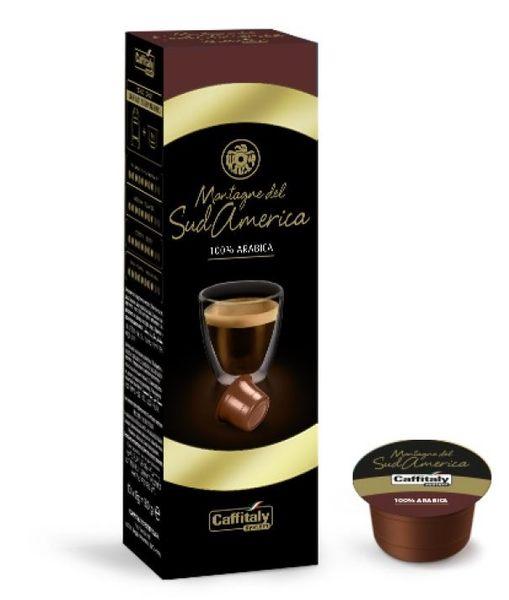 Caffitaly [南美山域探險 10顆裝/@8g] 伯朗咖啡膠囊 燦坤Tiziano 聲寶膠囊咖啡機適用 EZcap