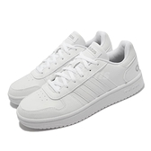 adidas 休閒鞋 Hoops 2.0 白 全白 NEO 女鞋 復古籃球鞋 愛迪達 運動鞋 【ACS】 FY6024