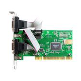 伽利略 PCI 2 Port RS232 擴充卡 PTR02B (9865)