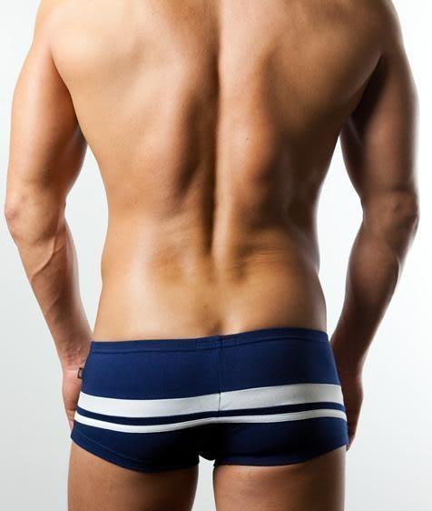 現貨+免運【Sexy cat】男性時尚 舒適平口褲(藍) L-XL福袋