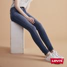Levis 女款 311 中腰緊身縮腹牛仔褲 / 中藍刷白 / 彈性布料