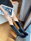 快速出貨網紅長靴高筒不過膝靴2020年新款春秋季馬丁靴女尖頭粗跟白色