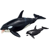 TOMICA多美動物園 -AL-08 虎鯨 漂浮版