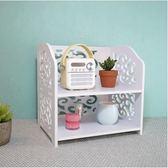 創意桌面收納盒書架辦公室北歐cd抽屜式化妝品宿舍多層整理盒igo 全館免運