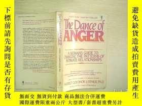 二手書博民逛書店THE罕見DANCE OF ANGER 01Y203004