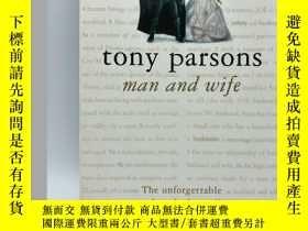 二手書博民逛書店Tony罕見Parsons: Man and Wife 英文原版