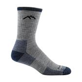 DarnTough Hiker Micro Crew Cushion 1466 男款登山健行羊毛襪 亮灰色
