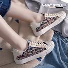 休閒鞋-氣質小香風毛呢休閒鞋【XLF18431】 時裝設計款 優雅氣質款