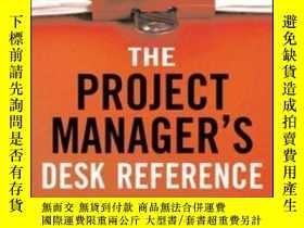 二手書博民逛書店The罕見Project Manager s Desk Refe