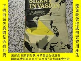 二手書博民逛書店SILENT罕見INVASION THE CHINESE IN