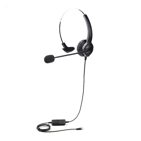 眾通騰翔電話總機 頭戴式電話耳機麥克風 各型號皆有 單耳本款有調音大小聲含靜音鍵功能