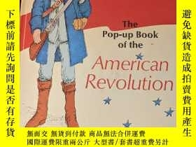 二手書博民逛書店原版立體書The罕見Pop-up Book of the American Revolution(pop up)奇