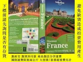 二手書博民逛書店Lonely罕見Planet: Discover France孤