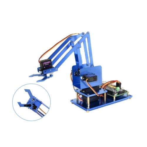 Raspberry PI 4軸金屬機械手臂 DIY組 (不含樹莓派)