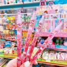 日本正版 蠟筆小新果凍原子筆 彩色原子筆 有色原子筆 中性筆 筆 0.5mm 粉款 COCOS PP170