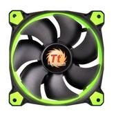 Thermaltake曜越Riing 12公分LED高風壓水冷排風扇(綠)