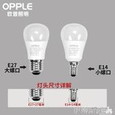 led燈泡照明led燈泡家用暖白光超亮e27e14大小螺口旋3瓦節能燈球泡