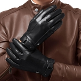 男士手套騎行摩托車冬季加絨加厚保暖防水騎車觸屏皮手套 潮流衣舍