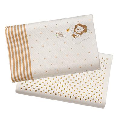 【佳兒園婦幼館】Simba 小獅王辛巴 有機棉乳膠舒眠枕L
