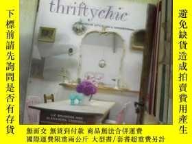 二手書博民逛書店Thrifty罕見Chic: Interior Style on