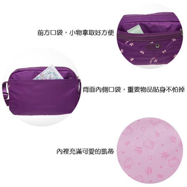 Hello Kitty -  圓舞曲-小側背包(黑色)
