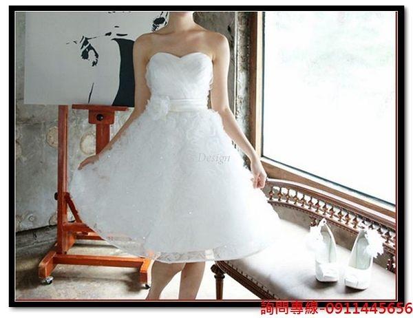 (45 Design) 訂做款式7天到貨新款伴娘小禮服 韓版時尚宴會小禮服新娘結婚禮服晚禮服