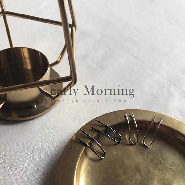 early Morning - 歐美極簡 U型掛式線條耳環 個性款 熱賣款【CHF037】