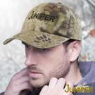 復古鴨舌帽-水洗復古蟒紋印刷運動帽J7486 JUNIPER