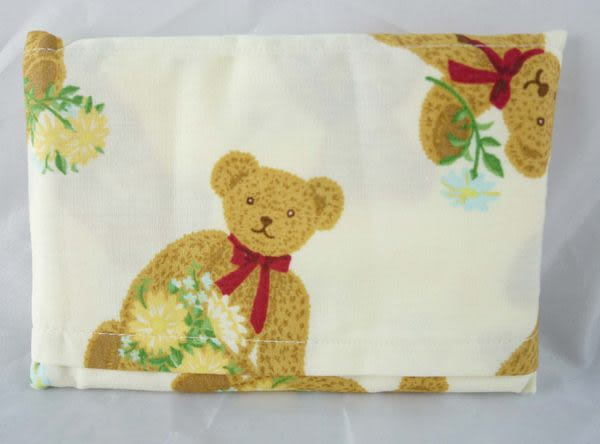 【震撼精品百貨】Holly's Bear 泰迪熊~面紙套『白花』