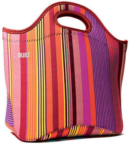 美國 BUILT NY彩色直線防水托特包(MTL-NLS)/時尚流行又大方