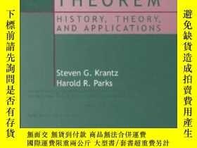 二手書博民逛書店The罕見Implicit Function Theorem-隱函數定理Y436638 Steven G. K
