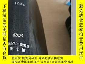 二手書博民逛書店CHEMICAL罕見WEEK.Vol.114.1974(化學周)